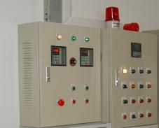 电控箱/柜 变频器同步及大小火燃烧机控制箱